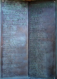 HMS Jervis Bay casualties