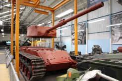 ...a Centurion tank on the production line...