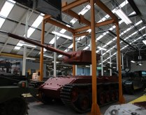 ...a Centurion tank on the production line..
