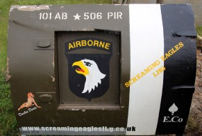 "101st Airborne ""Screaming Eagles"" American paratroops"