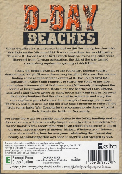 D-Day Beaches - back