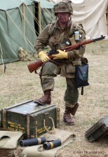 American 101st Airborne Infantry - the Screamin' Eagles