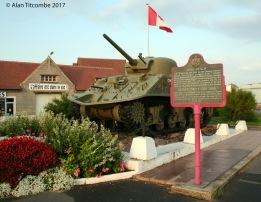 Duplex Drive 'Swimming' Sherman Tank - Juno Beach