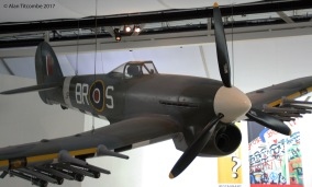 Hawker Typhoon fighter bomber of the RAF