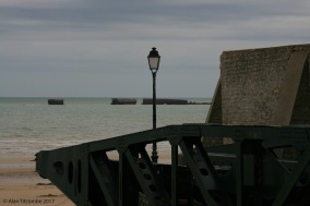 Arrowmanches - the British Mulberry Harbour