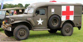 World War 2 US Dodge Ambulance