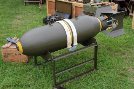 A bomb!