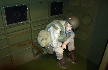 US Paratrooper in C-47 Skytrain