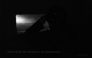 Major Werner Pluskart sees the invasion