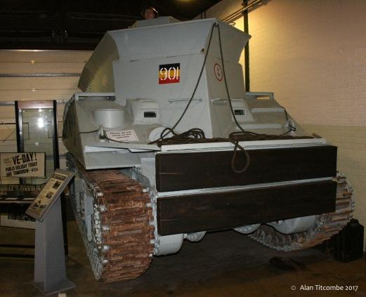 Sherman BARV (Beach Armoured Recovery Vehicle)
