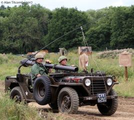 """M151 """"Mutt"""" with 105mm recoilless gun"""