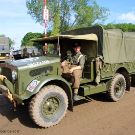 Bedford MWD 15-cwt truck - Royal Navy