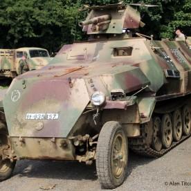 German WW2 - SdKfz 251 with 37mm Gun (in fact a post-war Czech built copy)