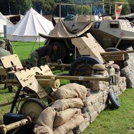 German WW2 - Afrika Korps camp