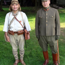 Japanese WW2 army soldiers