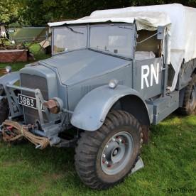 WW2 Royal Navy - Morris-Commercial CS8