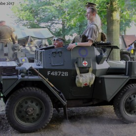 British WW2 - Daimler Doingo Scout Car
