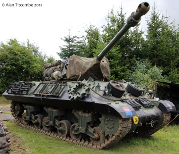 British WW2 Tank Destroyer - M10 Achilles