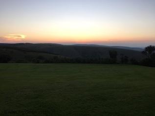 Sunset at the Mtonjanei Lodge