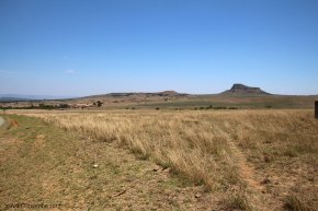 Isandlwana looking North West