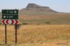 Isandlwana looking North West