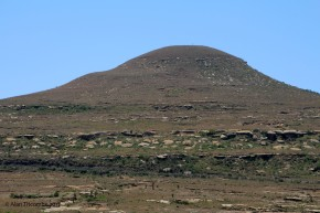 From here Chemlsfords naval ADC Lt Berkeley Milne onserved the camp at Isandlwana with his telescope
