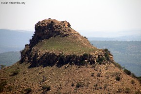 The summit of Isandlwana