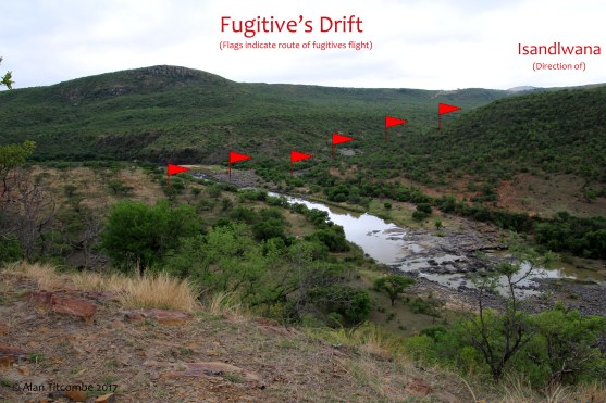 Fugitive's Drift - looking North