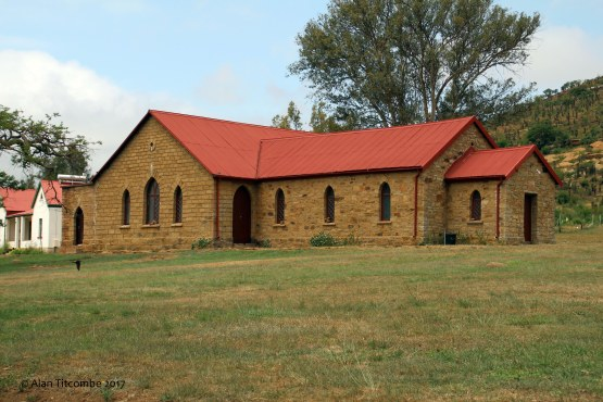 Current church built on the location of the storehouse