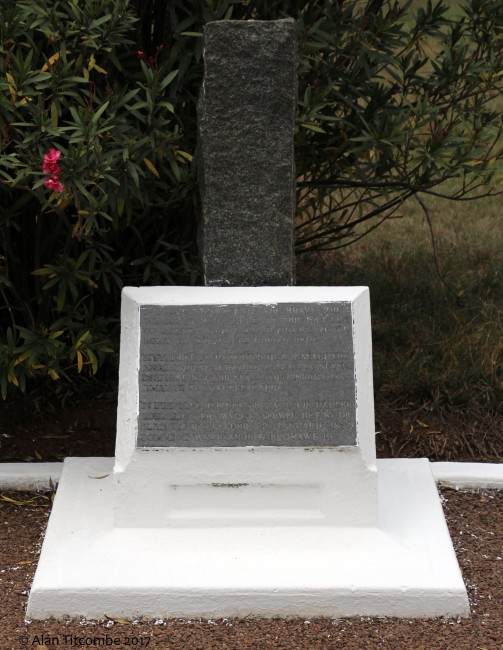Memorial to the Zulu warriors