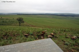 From the laager site looking South from where the umCijo and uMbonambi attacked