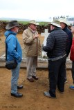 Our guide Anthony describes the course of the battle to an attentive audience