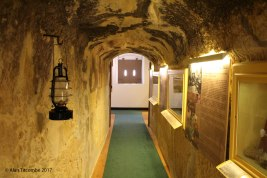 Inside the barrack rooms