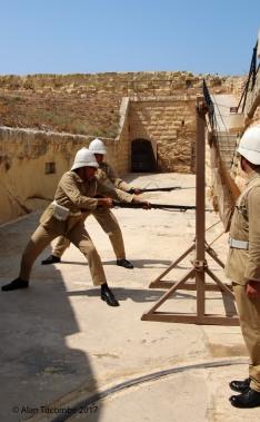 Bayonet drill