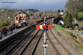 Bewdley Station looking North