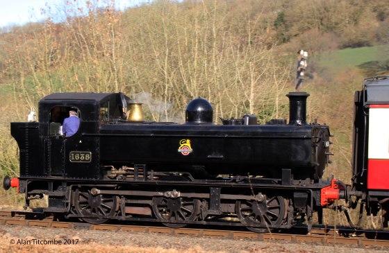 0-6-0PT 16xx Class No 1638 - Location 3