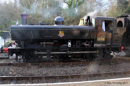 0-6-0PT 16xx Class No 1638 - Location 5