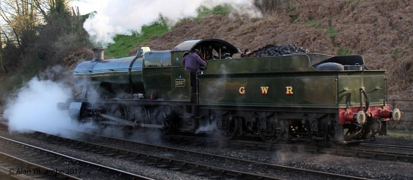 GWR 2-8-0 28xx No 2857 - Location 1