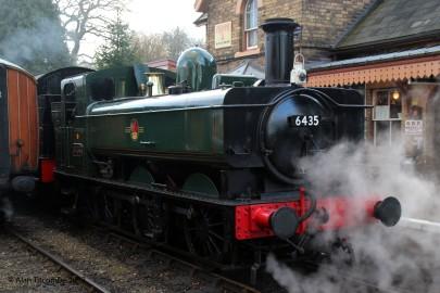 0-6-0PT 64xx Class No 6435 - Location 2