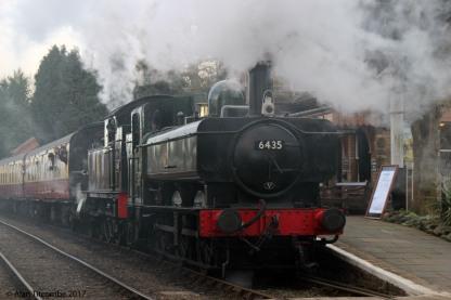 0-6-0PT 64xx Class No 6435 & 2-6-2T 45xx Class No 4566- Location 2
