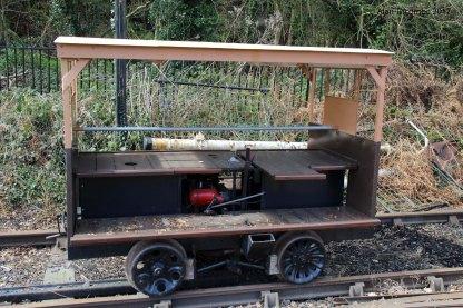 Electric Rail Cart