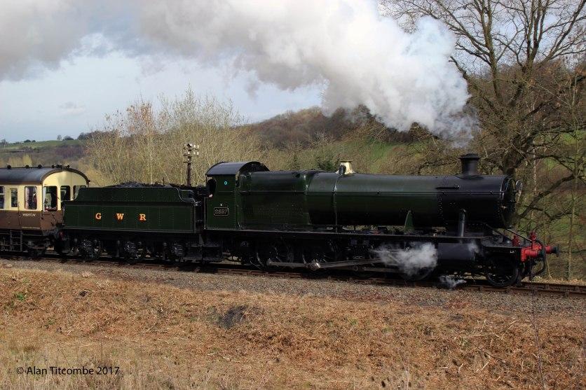 GWR 2-8-0 28xx No 2857 - Location 4