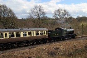 GWR 2-8-0 28xx No 2857 - Location 3