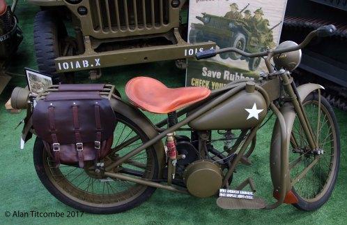 1943 Airborne Simplex Servi-Cycle - American