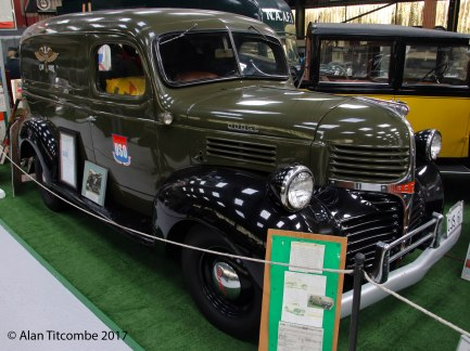 1941 1/2-Ton Dodge 4x2 Panel Truck