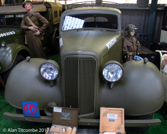 Humber Staff Car - British WW2