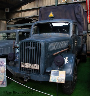 Opel Blitz German WW2 Truck