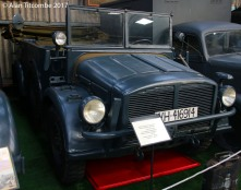 1940 Horch 108 Heavy Utility Vehicle