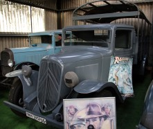 Citroen truck that featured in the film Indiana Jones and the Last crusade
