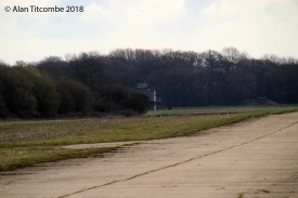 The Tower looking West down the main runway